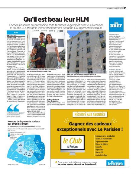 Article Le Parisien_10.07.2020