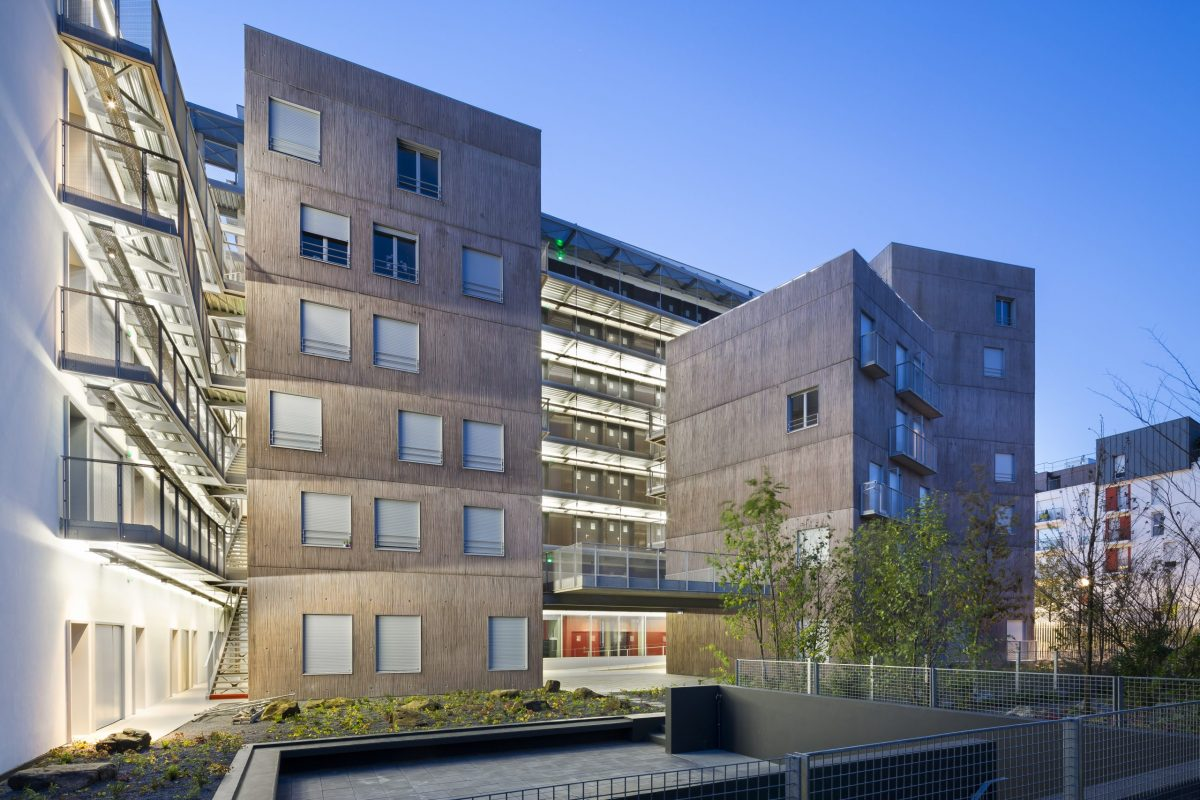 architecte: NAUD et POUX